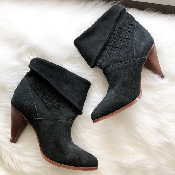 Anthropologie Shoes - Faryn Robin • Black Heeled Booties